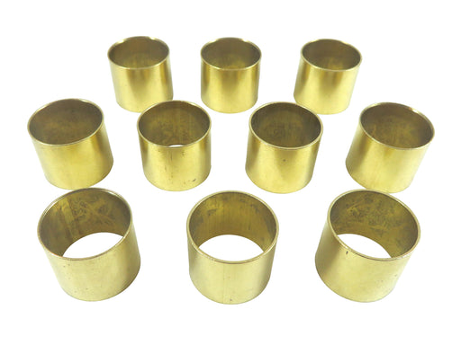 "Robert Sorby 10 Piece 22mm (7/8"") Solid Brass Ferrules"