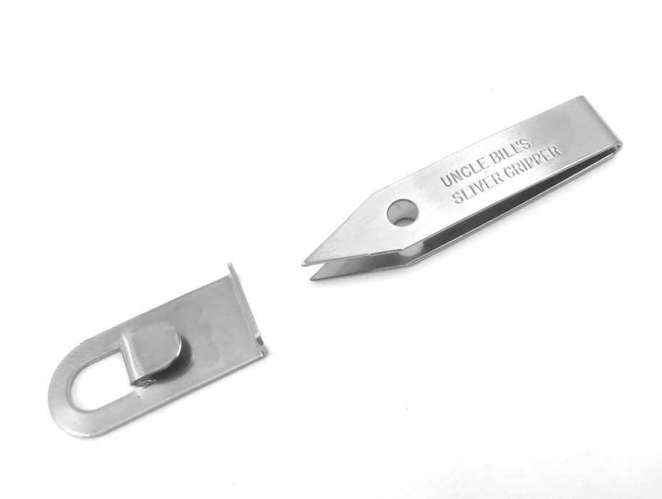Uncle Bill's Sliver Gripper Tweezers