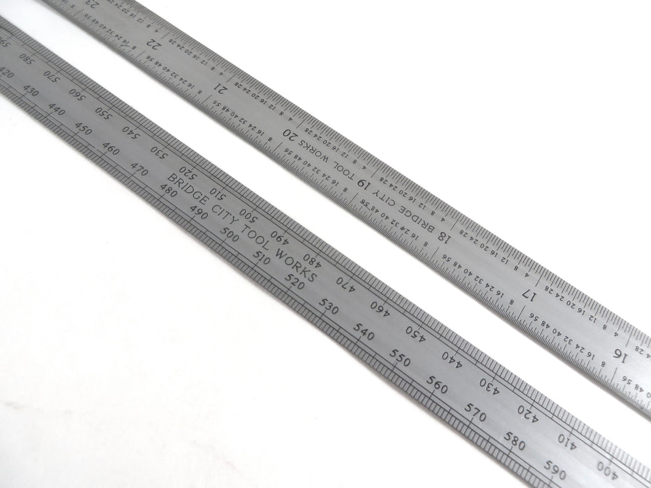 "Blem Bridge City Tool Works 1000 mm/39"" Flexible Ruler for PT-1 Trammel Head Set"