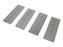 G Sharp Replacement 4 Piece Diamond Hone Set for Sharp Edge Chisel and Plane Blade Sharpener