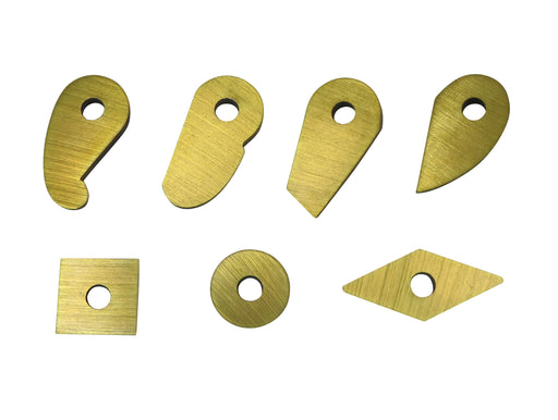 Robert Sorby TurnMaster Titanium Nitride Coated HSS Cutters