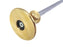 Solid Brass Easy Read Wheel Marking Cutting Gauge with 2 Extra Cutters