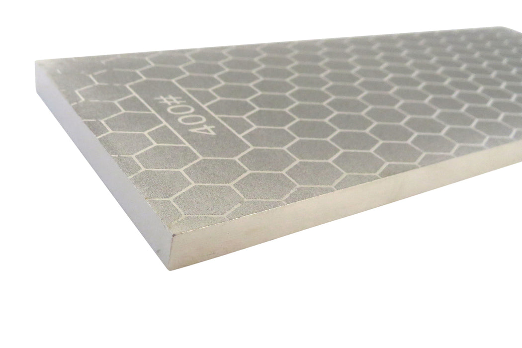 "400/1000 Grit 8"" x 3"" x 5/16""  Diamond Sharpening Stone"
