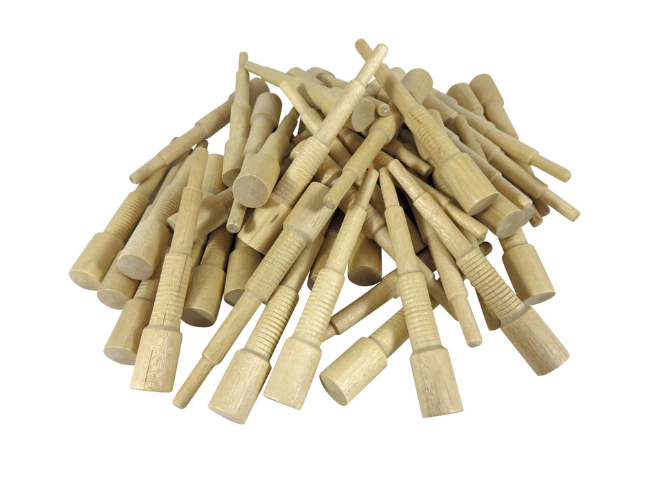 Miller Dowel Mini Starter Set with Stepped Bit and 100 Birch Dowels