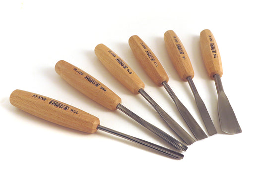 Narex 6 Piece Carving Chisel Set (894720)