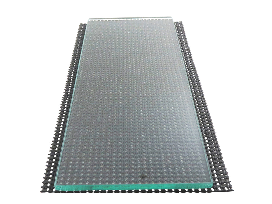 One sheet 5/16 x 5 x 12 Float Glass for Scary Sharp System
