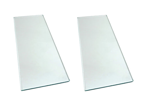 "Two sheets 5/16"" x 5"" x 12"" Float Glass for Scary Sharp System"