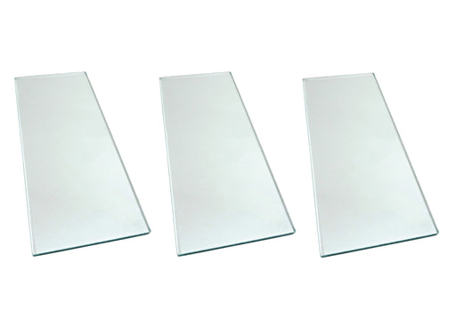 "Three sheets 5/16"" x 5"" x 12"" Float Glass for Scary Sharp System"