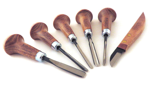 Narex 6 Piece Graving Chisel Set (868500)