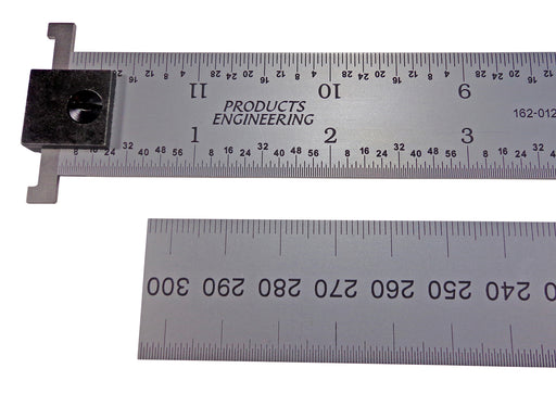 PEC Tools English/Metric Rigid Hook Rulers