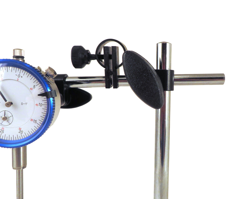 Magnetic Base with Fine Adjustment and SAE Dial Test Indicator with 0.0005