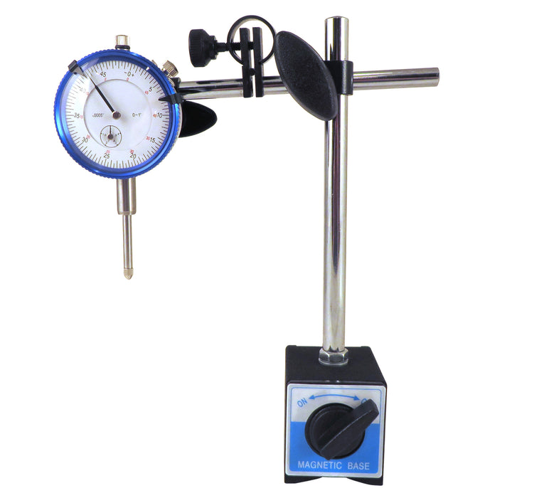 Magnetic Base with SAE Dial Test Indicator Fine Adjustment 176# Magnet