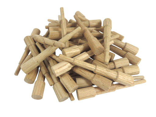 Miller Dowel 100 Pack of Mini Stepped Oak Dowels