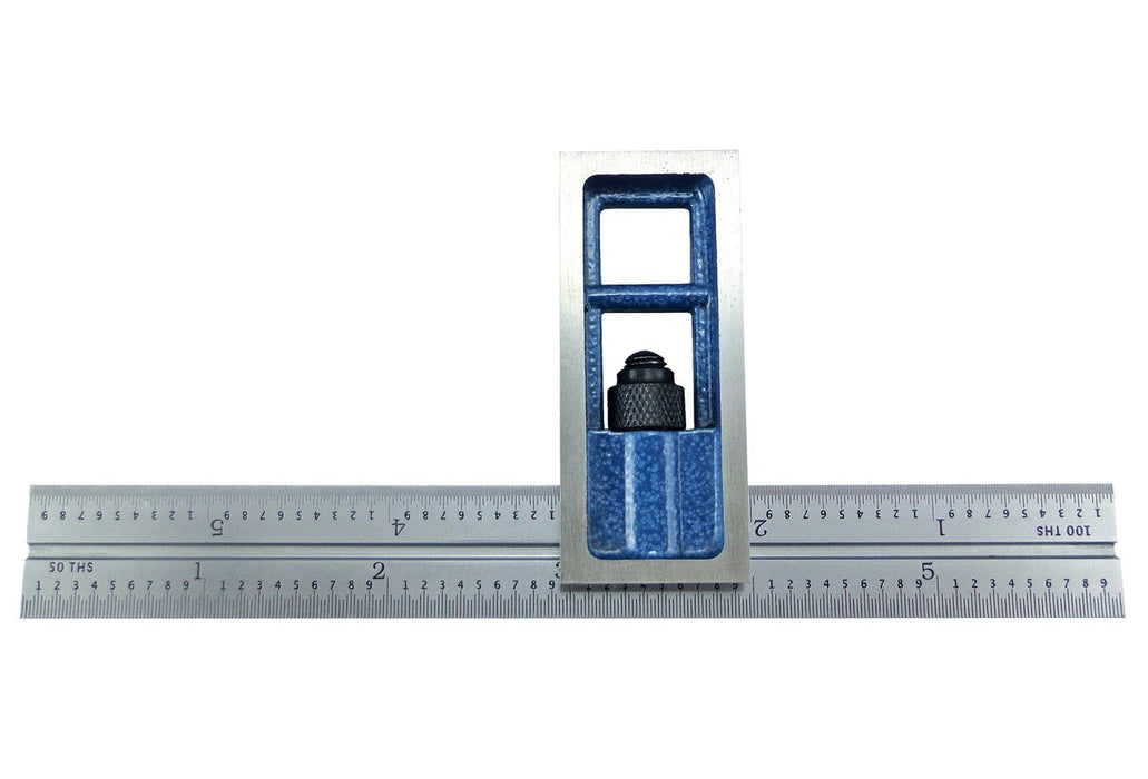 PEC Tools 16R Double Squares with 1/32, 1/64, 1/50 and 1/100 Graduations