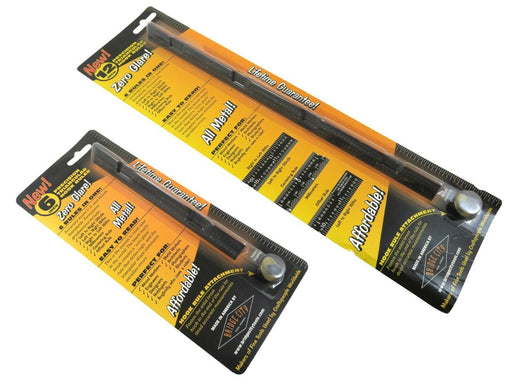 "Bridge City Tool Works 6"" & 12"" Triangular Zero-Glare Hook Ruler"
