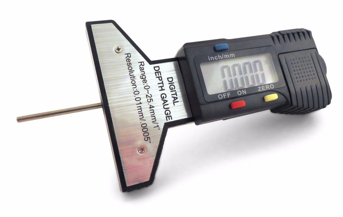 "0-1"" / 0-25mm, Digital Depth Gauge Gage, Digital Dial Indicator"