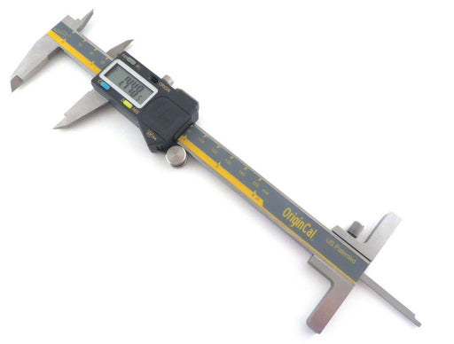 "iGaging OriginCal IP54 0-6"" Digital Calipers with Depth Gauge"
