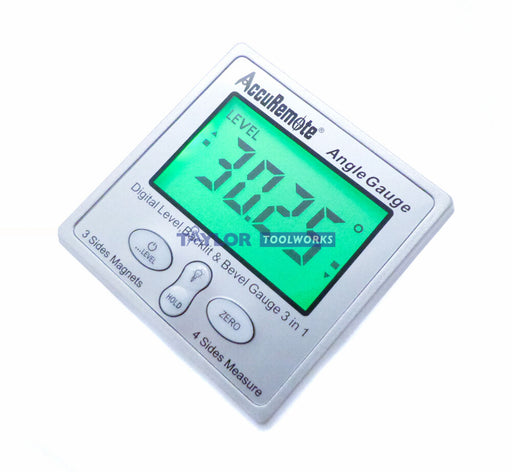 AccuRemote® Back-lit Digital Angle Gauge