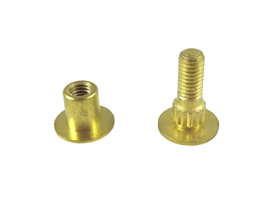 Replacement Solid Brass Saw Bolts and Nuts