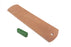 Genuine Horse Butt Leather Strop with 1.2oz Chromium Oxide 0.5 Micron Polishing Compound Bar