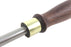 "Taytools Cabinet Scraper Burnisher Walnut Handle 3/8' x 4"" High Carbon Steel Polished Rod HRC 62-64"