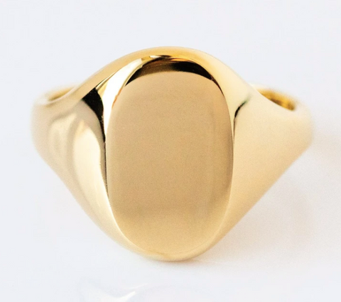 signet ring from local eclectic