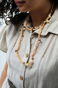 Collier de coquillages de Tahiti - 17