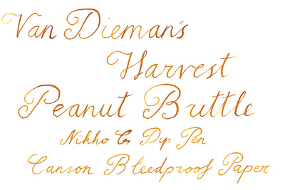 Peanut Brittle Writing Sample