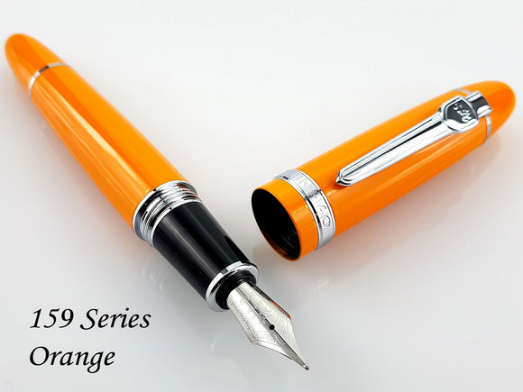 JINHAO 159 Orange Fountain Pen - Medium Nib
