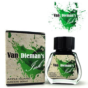 Van Dieman's Fountain Pen Ink, Apple Island Green