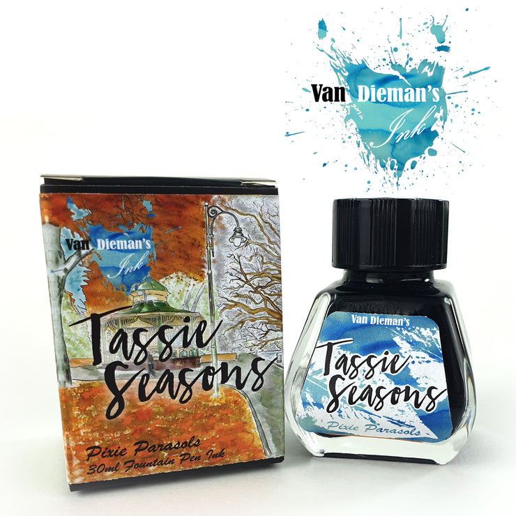 Van Dieman's Tassie Seasons (Autumn) Pixie Parasols - Fountain Pen Ink