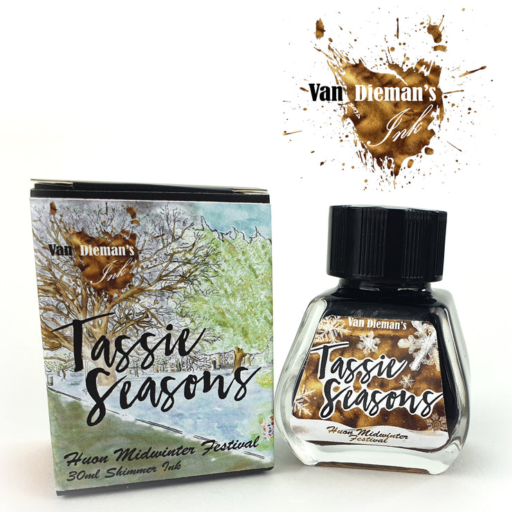 Van Dieman's Tassie Seasons (Winter) Huon Midwinter Festival - Shimmer Ink