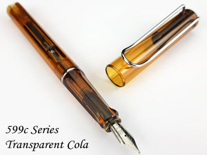 JINHAO 599-c Transparent Cola Fountain Pen - Fine Nib