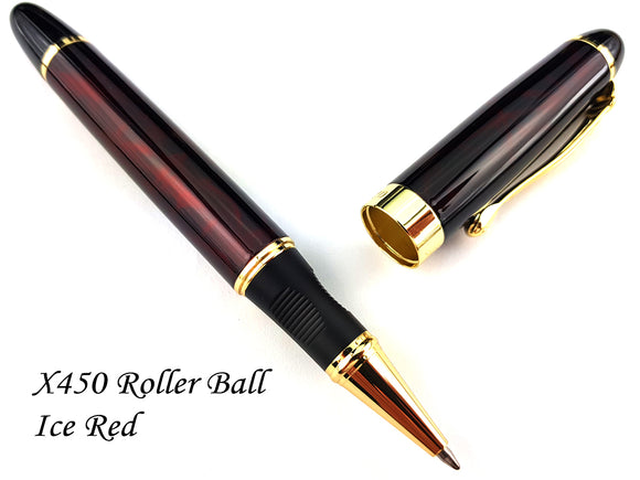 JINHAO X450 Roller Ball Pen Ice Red