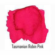 Van Dieman's Fountain Pen Ink, Tasmanian Robin Pink - 30ml Bottle