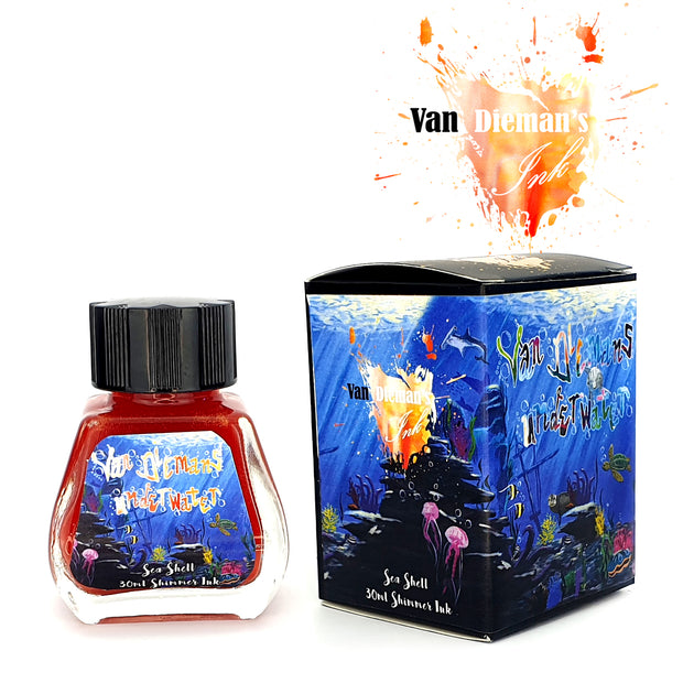 Van Dieman's Underwater: Sea Shell - Shimmer Ink