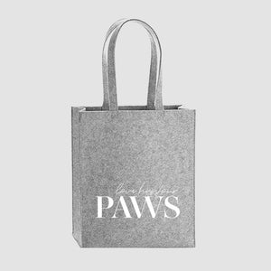 Filz Tragetasche | love has four paws