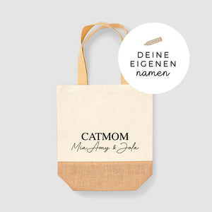 Jute Shopper | handwritten