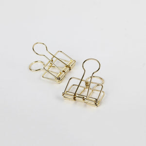 Paperclips Gold | 2er Set