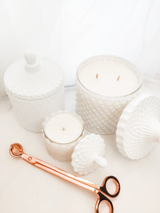 Luxe Candle Pack 3 - White