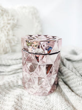 Load image into Gallery viewer, Diamond Jar Candle | PINK CHROME