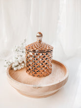 Load image into Gallery viewer, Baby Geo Jar Candle | ROSE GOLD
