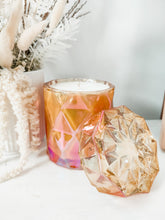 Load image into Gallery viewer, Diamond Jar Candle | AMBER