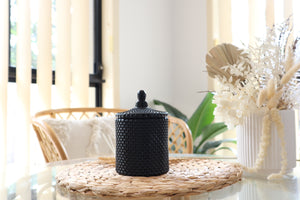 Statement Jar Candle | GLOSS BLACK