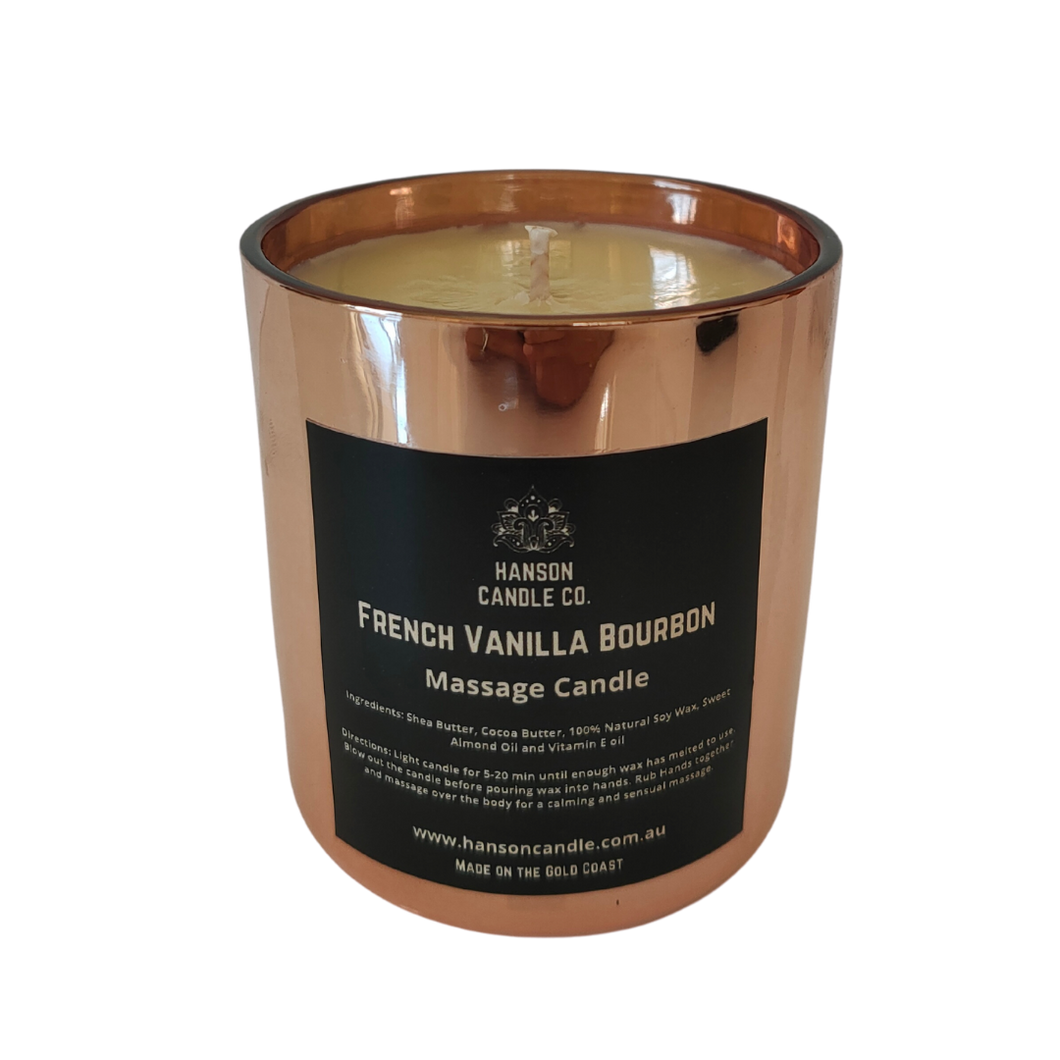Sensual Massage Candle | ROSE GOLD