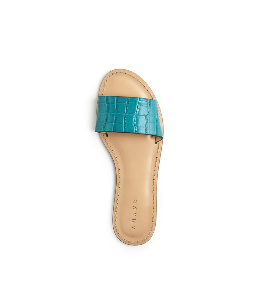 Load image into Gallery viewer, Style 01 / Teal Croc