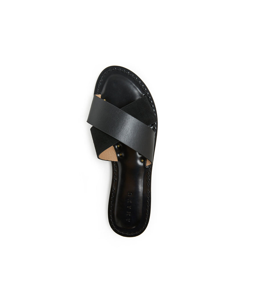 Load image into Gallery viewer, Style 03 / Black Leather / Black Suede