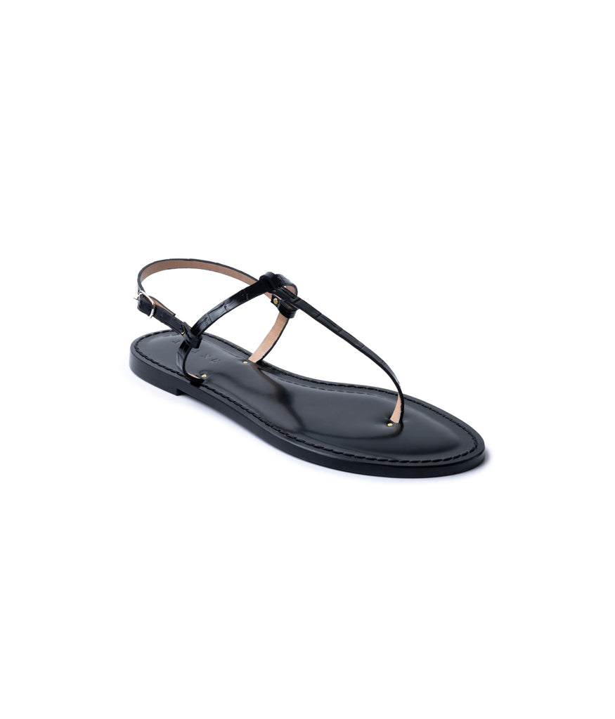 Load image into Gallery viewer, Style 15 / Black Croc Vachetta