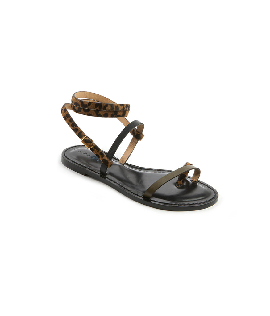 Load image into Gallery viewer, Style 16 / Leopard / Olive / Black