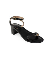 Load image into Gallery viewer, Style 18 | Black Croc | Black Heel